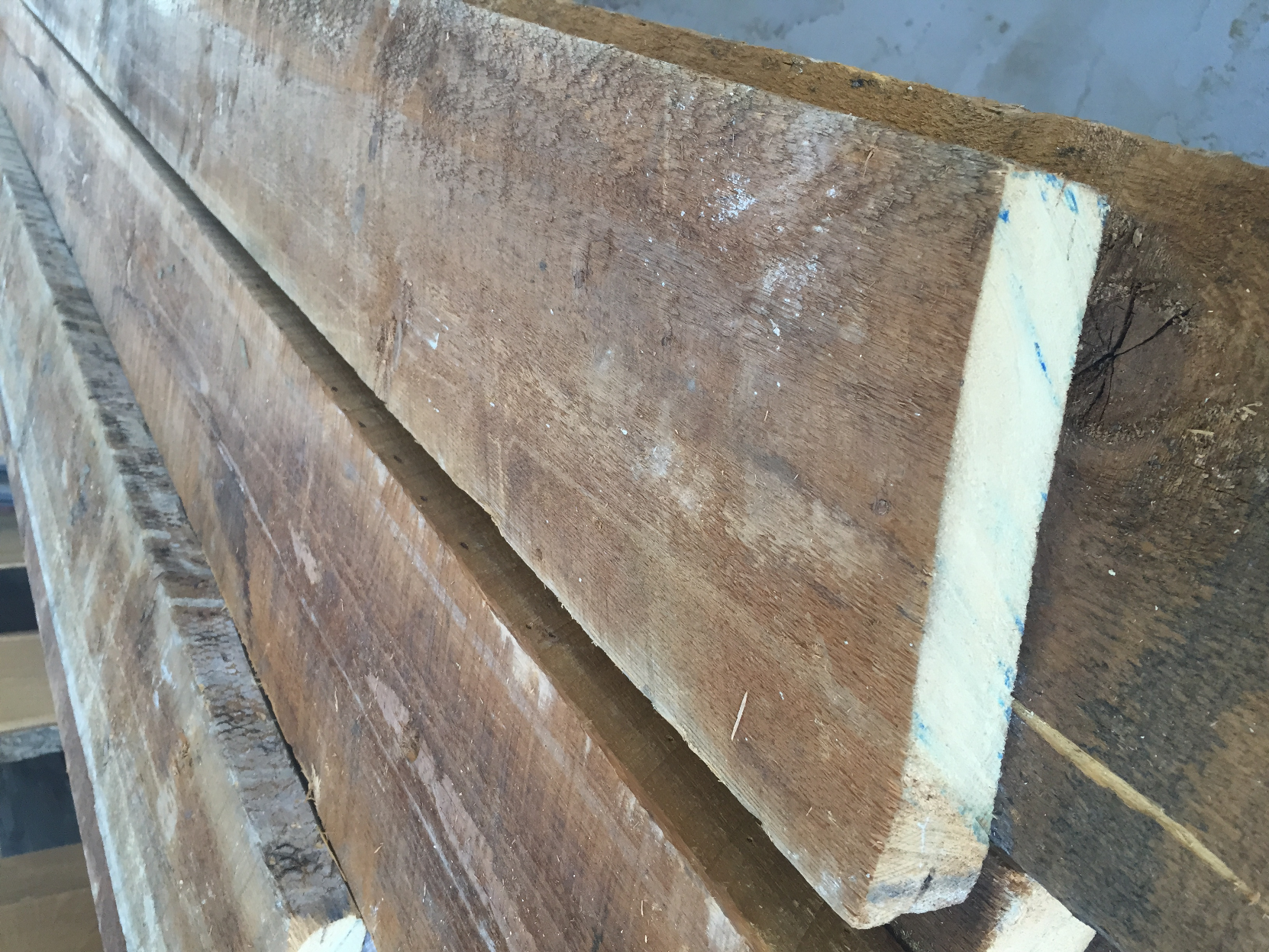 reclaimed softwoods